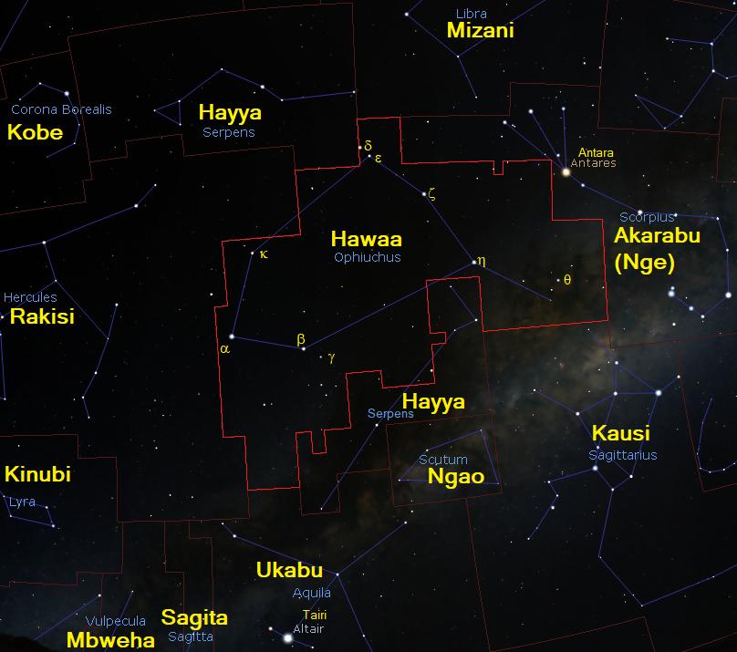 Hawaa Ophiuchus
