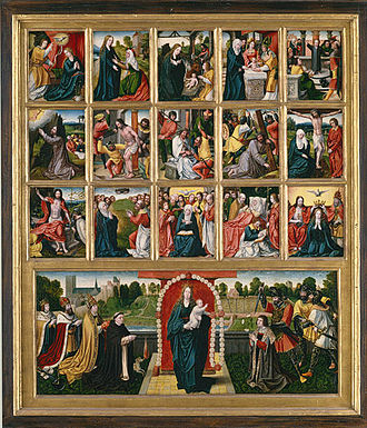 Seven Joys of the Virgin - The Fifteen Mysteries of the Rosary and the Virgin of the Rosary