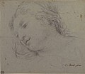 Head of a Woman (recto); Head of a Child, Study of Children's Forearms (verso) MET 1975.131.25 RECTO.jpg