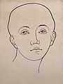 Head of woman showing musical ability, according to phrenolo Wellcome V0009520ER.jpg
