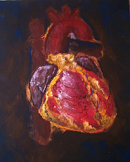 Heart-painting