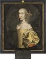 Hedvig Sofia, 1623-83, prinsessa av Brandenburg - Nationalmuseum - 14695.tif
