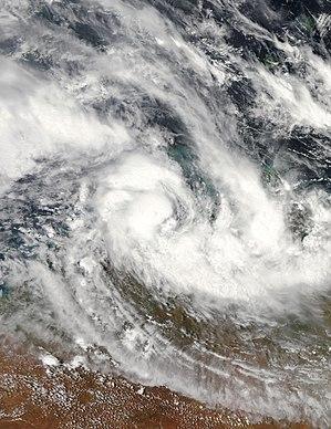 Cyclone Helen (2008) Category 2 Australian region cyclone in 2007 and 2008
