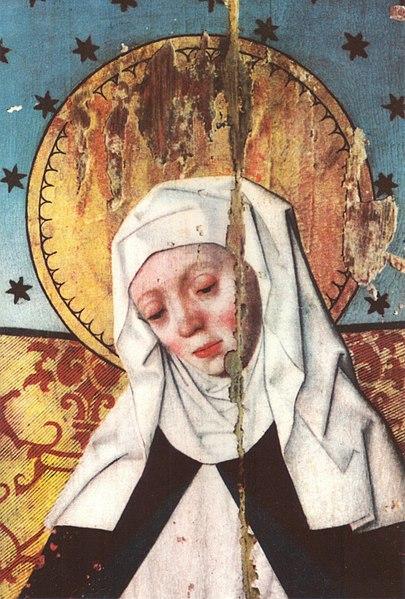Fil: Heliga Birgitta In ETT altarskåp i Salems kyrka.jpg