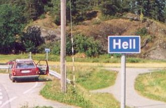 Place names considered unusual - Hell, Norway