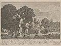Hendrick Goudt after Adam Elsheimer - Tobias and the Angel (the small Tobias), 1608, Galéria mesta Bratislavy.jpg