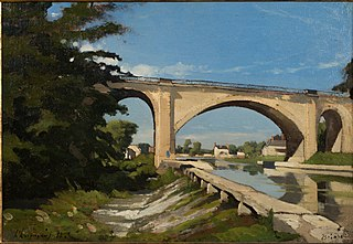 The Railroad Bridge at Briare