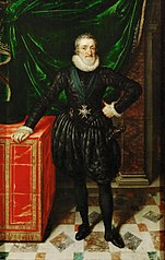 Henry IV, King of France, Dressed in Black