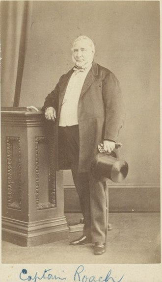 Henry Roach - Captain Henry Roach (date unknown)