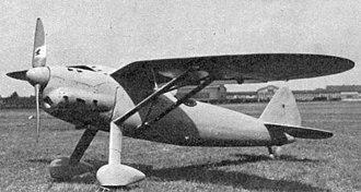 Henschel Hs 121 - Image: Henschel Hs 121 photo L'Aerophile September 1939