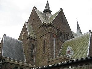 Leo van der Laan - Image: Herensingelkerk (Leiden) OLV Hemelvaart en St Joseph 5