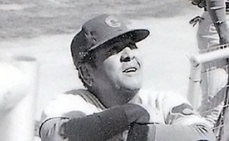 Herman Franks - Herman Franks, Cubs manager, 1977