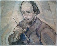 Herman Kruyder Self Portrait with Paintbrush.jpg