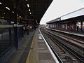 Herne Hill stn northbound platform 2 look north.JPG