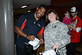 Herschel Walker at Camp Withycombe, 2012 005 (8454305967).jpg