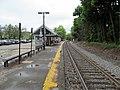 Highland station platform, May 2012.JPG