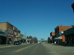 Hillsboro, Wisconsin - Downtown Hillsboro