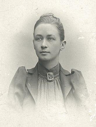 Hilma af Klint - Portrait photo c. 1901 or earlier