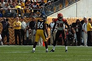 2006 Cincinnati Bengals season - Image: Hines Ward and Tory James