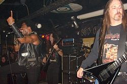 Hirax live in Buenos Aires, Argentinien (2009)