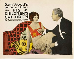 His Children's Children - Lobby card