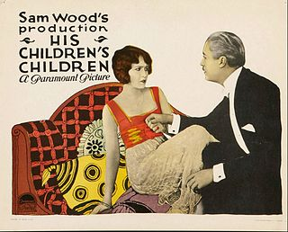 <i>His Childrens Children</i> 1923 film by Sam Wood
