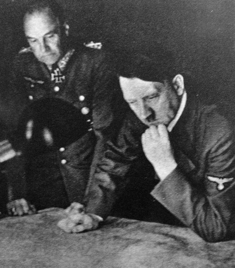 Hitler and von Brauchitsch 1941