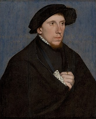 Sonnet - Henry Howard, Earl of Surrey, c.1542 by Hans Holbein