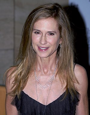 Holly Hunter - Hunter at the 2010 Metropolitan Opera opening night of Das Rheingold