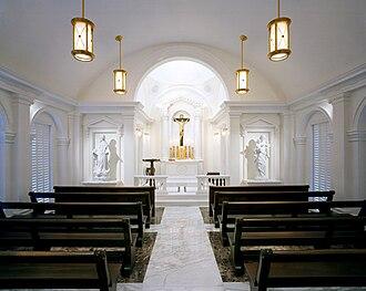 Duncan G. Stroik - Holy Family Chapel, Nebraska