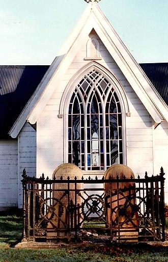 Marianne Williams - Image: Holy Trinity Church Pakaraka New Zealand
