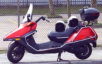 Scooter (motorcycle) - Honda CN250 Helix