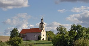 Hontianska Vrbica - Church in Hontianska Vrbica