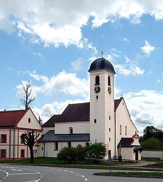 Horní Cerekev - Image: Horni Cerekev, kostel Zvestovani Pane 01