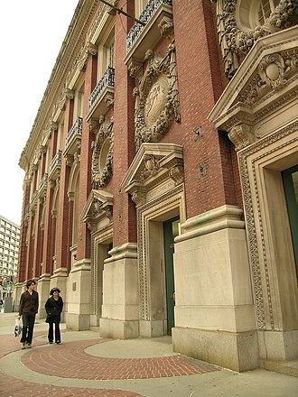 Horticultural Hall (Boston) - Horticultural Hall, Massachusetts Avenue