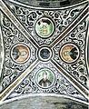 Hosios Loukas Crypt (north east groin-vault) - Luke, Theodosios, Athanasios, Philotheos.jpg