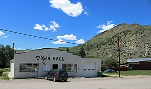 Hot Sulphur Springs, Colorado Town Hall.JPG