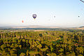 Hot air balloon over the Royal Canberra Golf Club.JPG