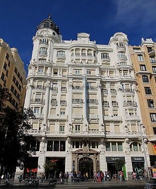 Hotel Atlántico (Gran Vía 38, Madrid) 07.jpg