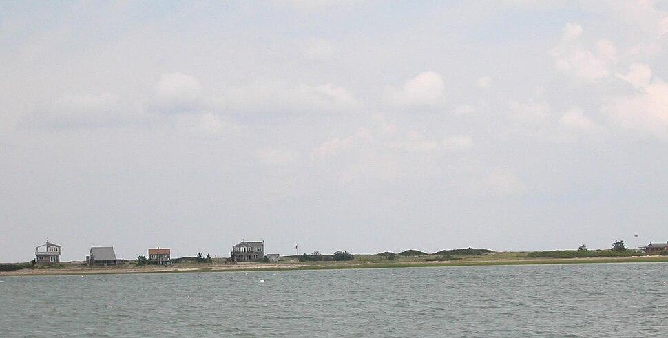 Houses on Plymouth Beach
