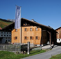 Huber Haus, Heimatmuseum, Dorf 26 Lech 3.JPG