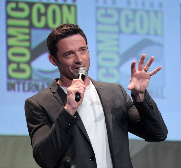 Hugh Jackman at Comic Con 2015