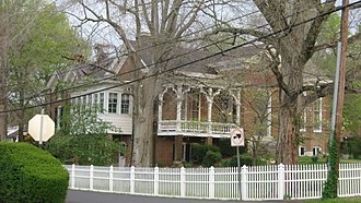 National Register of Historic Places listings in Humphreys County, Tennessee - Image: Hugh M. Mc Adoo House