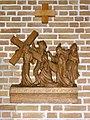 Huissen (Lingewaard) RK kerk kruisweg statie 08.JPG