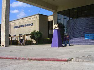 Humble High School - Humble High School before the renovation