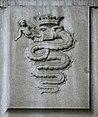 IMG 7177 - Milano - Staz. C.le - Biscione visconteo usato come stemma di MI - Foto Giovanni Dall'Orto 18-Mar-2007.jpg