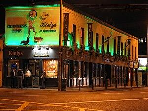 Donnybrook, Dublin - Kiely's pub in Donnybrook