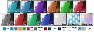 IMac G3 - Image: I Mac G3 flavors