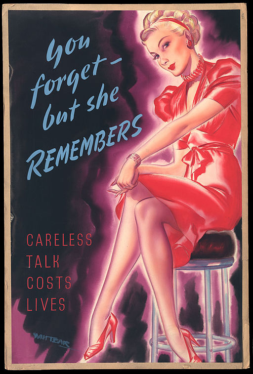 INF3-271 Anti-rumour and careless talk You forget - but she remembers