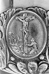 interieur, medaillon op cuppa van ciborie - arnhem - 20305051 - rce